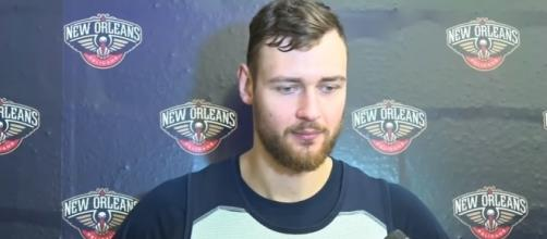 Donatas Motiejunas Pregame Interview - DaHoopSpot Productions via YouTube (https://www.youtube.com/watch?v=7z1aEum_-yo)