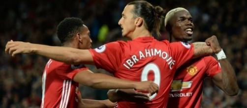 È già Ibra United: 2-0 al Southampton nell'esordio di Pogba ... - eurosport.com