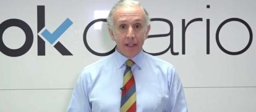 Eduardo Inda se enzarza con una periodista en Telecinco
