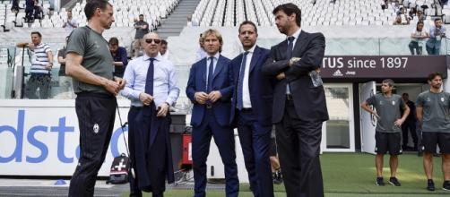 La dirigenza juventina e il calciomercato