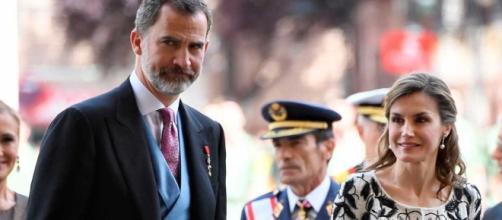 Los Reyes durante su visita oficial a Reino Unido