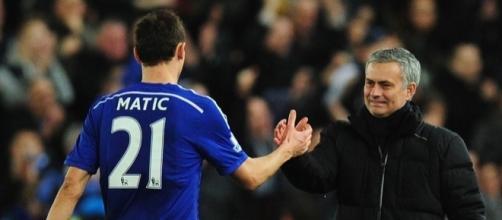 Matic è pronto a riabbracciare Jose Mourinho