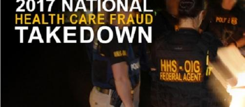 National Health Care Fraud Takedown Credits:U.S office of inspector general https://oig.hhs.gov/newsroom/media-materials/2017/2017-takedown.asp