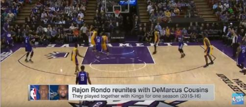 PG Rajon Rondo Agrees To 1-Year Deal With New Orleans Pelicansm (Image credit - NBALife | Youtube