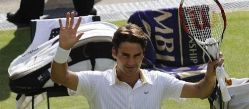 Roger Federer – Wimbledon 2009 by Justin Smith via Flickr