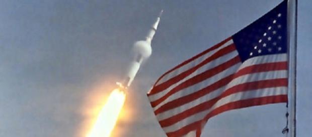 Apollo 11 launch (Courtesy NASA)