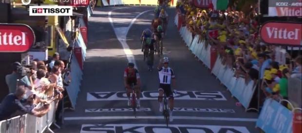 La vittoria di Michael Matthews a Rodez