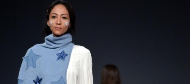 Stelle di jeans per una creazione di uno studente della Koefia - Ph. Valentina Di Palma