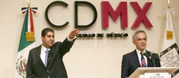 Toma protesta Garrido Osorio como nuevo procurador de la CDMX - com.mx