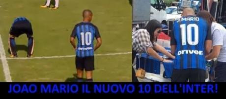 Inter, Joao Mario il nuovo numero 10