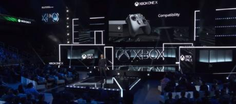 Xbox One X - Reveal E3 2017 $499 - Image - Centerstrain01 - YouTube
