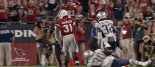 Arizona Cardinals rumors: David Johnson wants more touches - youtube screen capture / NFL