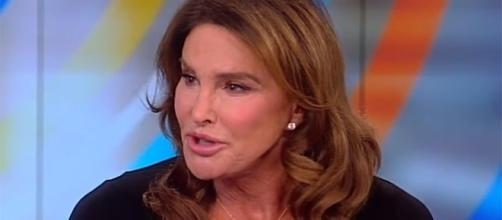 "Caitlyn Jenner opens up about her relationship with Rob Kardshian on ""The View."" (YouTube/The View)"