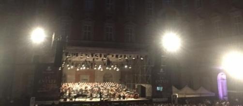 Ennio Morricone in concerto alla Reggia di Caserta.
