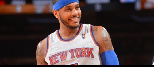 James Harden and Carmelo Anthony talk possible Houston Rockets trade - Photo: YouTube (NBA)
