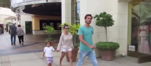 Kourtney Kardashian & Scott Disick Reunited For Family Day With Kids   Splash news as cited by Lehren Hollywood   YouTube