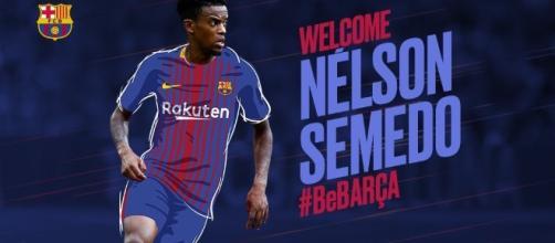 Nélson Semedo é reforço do FC Barcelona para 2017-2018.