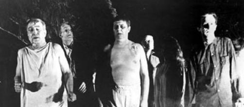 Still from 'Night of the Living Deadf' (public domain wikimedia)