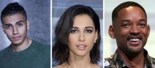Cast for the live-action remake of 'Aladdin; (Youtube/JohnCampea).
