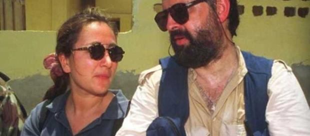 Ilaria Alpi e Miran Hrovatin, 1994.
