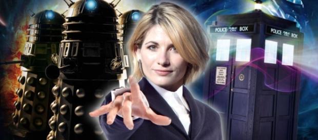 Jodie Whitaker nei panni del nuovo dottore.