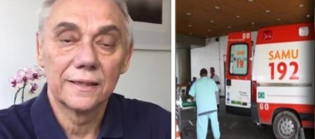 Marcelo Rezende diz que não foi enterrado