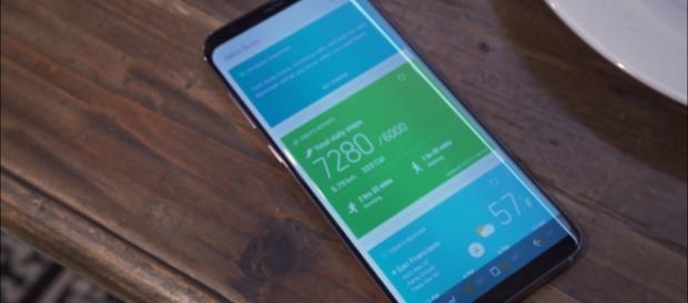 Samsung Galaxy S8, Youtube screenshot, The Verge