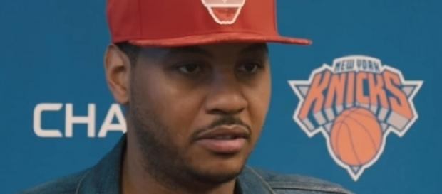 The Portland Trail Blazers are also eyeing Carmelo Anthony -- New York Knicks via YouTube