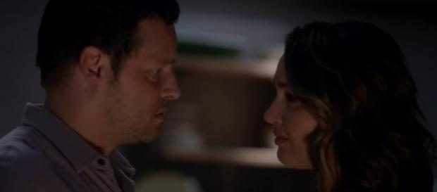 """Will Jo and Alex reunite in the upcoming season of """"Grey's Anatomy""""? (Source: Youtube/ABC)"""