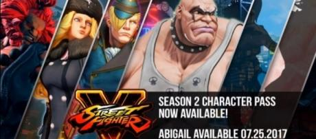 "Abigail is headed to ""Street Fighter V"" as part of second season character pass -- Street Fighter/YouTube"