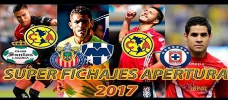 Incorporaciones al Torneo Apertura 2017