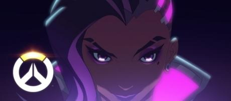 Sombra's hacking ability allows her to burn her ultimate at a high percentage (via YouTube/PlayOverwatch)