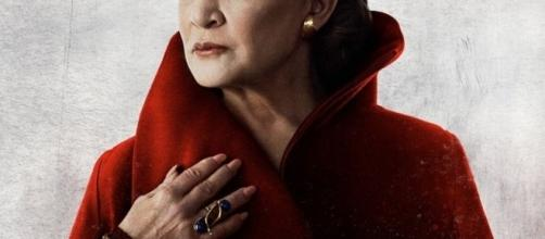 Carrie Fisher as General Leia Organa - Star Wars via Twitter