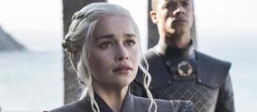 Daenerys no primeiro episódio da sétima temporada de ''Game of Thrones''