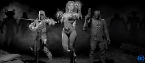 "Ed Boon teases the next secret DLC characters in ""Injustice 2"" after Starfire. (DC Entertainment/YouTube)"