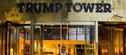 Entrance at Trump Tower, New York. / [Image by Anthony Quintaro via Flickr, CC BY 2.0]