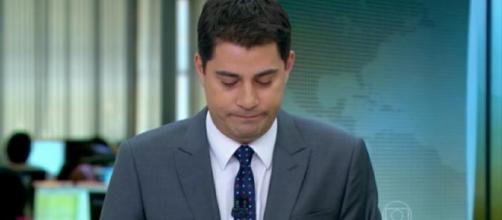Evaristo Costa pediu para sair da Globo por conta de sua família (Foto: Reprodução)