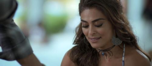 Juliana Paes que interpreta a traficante Bibi em 'A Força do Querer'.