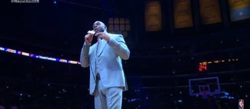 Los Angeles Lakers President of Basketball Operations Magic Johnson. Photo - YouTube Screenshot/@NBA
