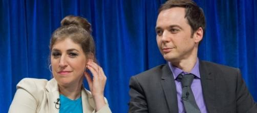 Mayim Bialik and Jim Parsons play a couple in 'The Big Bang Theory.' - Flickr/Dominick D