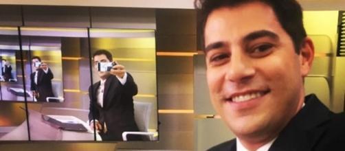 """No comando do """"Jornal Hoje"""" desde 2004, apresentador decidiu tirar seu ano sabático"""