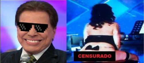Silvio Santos permitiu que dançarina mostrasse a bunda na TV
