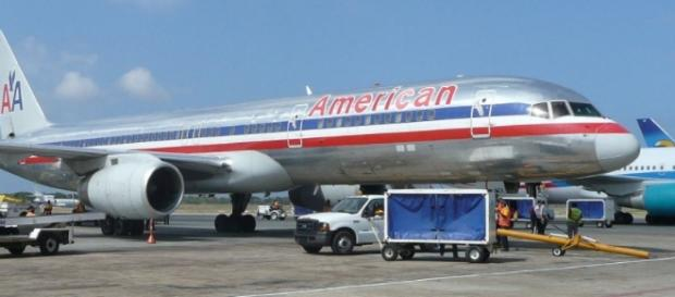 An American Airlines flight had to land because a passenger passed gas. Christopher Cooper/Wikimedia Commons
