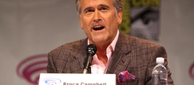 Bruce Campbell, an American Dr. Who? (Gage Skidmore, flickr)