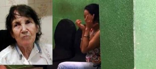 Idosa morta ao ser asfixiada pela neta de 25 anos, em São Paulo (Foto: Reprodução)