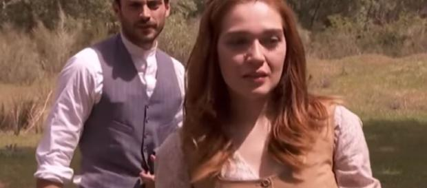Il Segreto: Julieta e Saul come Pepa e Tristan