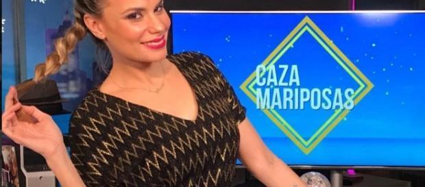María Lapiedra, expulsada del plató de SV17