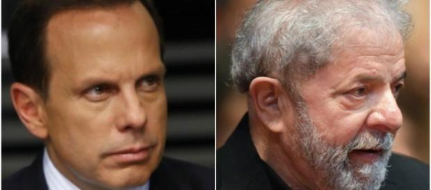 Prefeito João Dória não esconde rivalidade com o ex-presidente Luiz Inácio Lula da Silva. ( Foto: Reprodução)