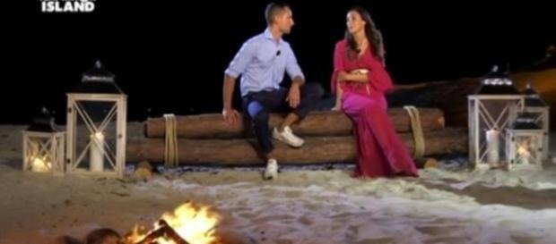 Temptation Island, Ruben e Francesca al confronto