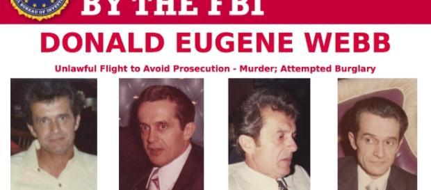 Webb em anúncio do FBI (Foto: Divulgação/Masslive.com)